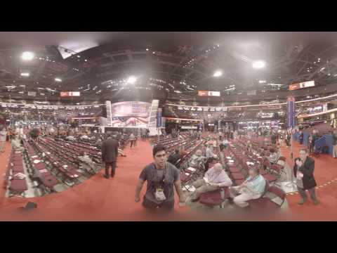 360° Look Inside The 2016 Republican National Convention
