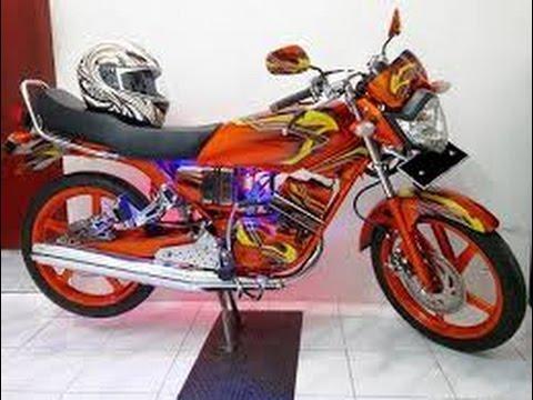 terbaru modifikasi motor yamaha rx king terbaru
