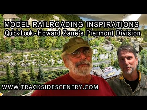 Howard Zane's Piermont Division Layout - Model Railroad Inspirations