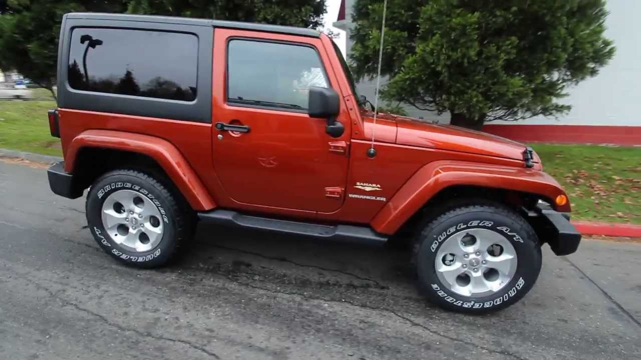 Chrysler Dodge Jeep Ram Of Seattle >> 2014 Jeep Wrangler Sahara | Copperhead Pearl | EL169674 | Seattle | Bellevue - YouTube