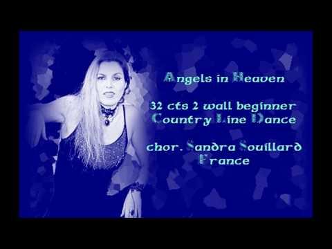 ANGELS IN HEAVEN Line Dance demo + details