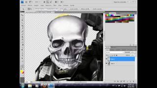 Como montar una imagen en Photoshop Cs4 (Parte 1)
