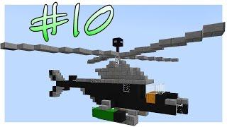 Вертолёт & Кровать   Битва Строителей #10   Minecraft Mini Game