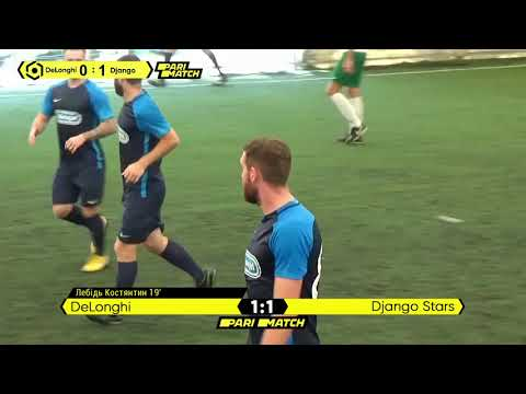Огляд матчу   DeLonghi 2 : 3 Django Stars
