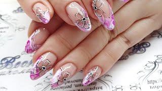 Дизайн ногтей  Каменные текстуры  Обзор Patrisa nail