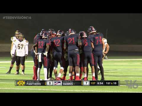HS Football Citrus Hill vs Newbury Park