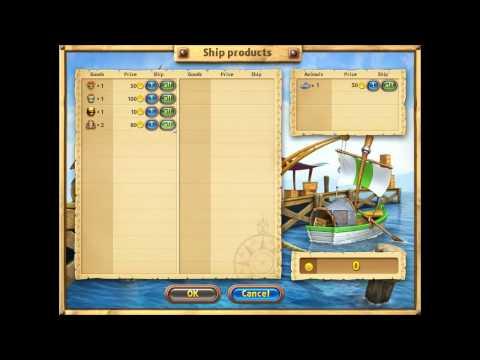 Farm Frenzy Gone Fishing Level 4 Gameplay