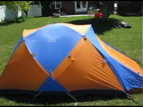 & Sierra Designs Tiros Convertible CD Tent - YouTube