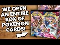 WE OPEN AN ENTIRE POKEMON SWORD & SHIELD BOOSTER BOX