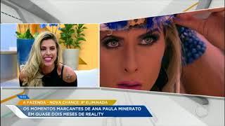 Relembre os momentos marcantes de Ana Paula Minerato em A Fazenda - Nova Chance
