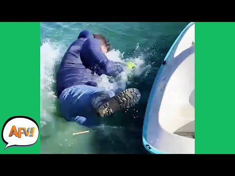 Gone OVERBOARD With the FAIL! 🤣 | Funny Fails | AFV 2021