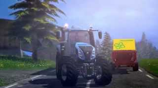 FARMING SIMULATOR 15   REVEAL TRAILER