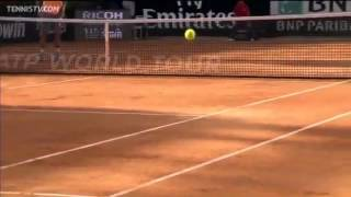 Rafael Nadal - Outrageous Passing Shot [HD]