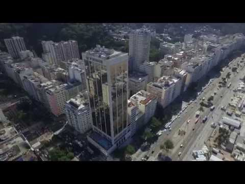 Copacabana Beach by Drone