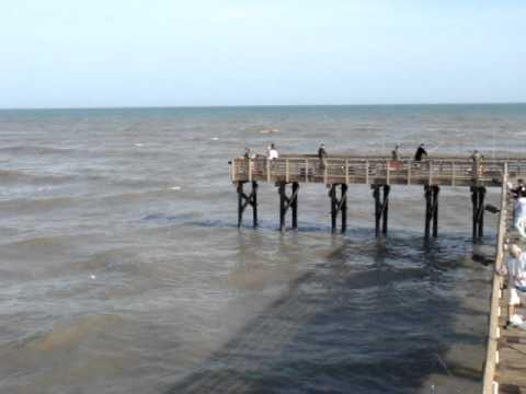 Galveston pier fishing youtube for Galveston fishing pier report