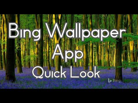 Bing Wallpaper App - Quick Look