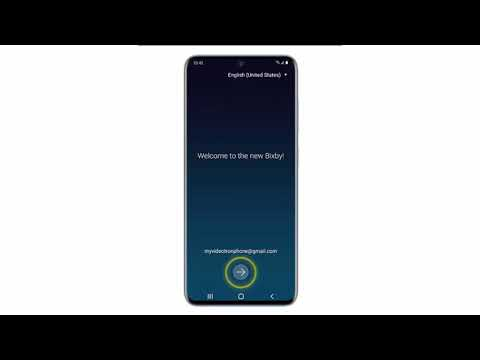 Set up Bixby on Samsung Galaxy S20, S20 Plus or S20 Ultra