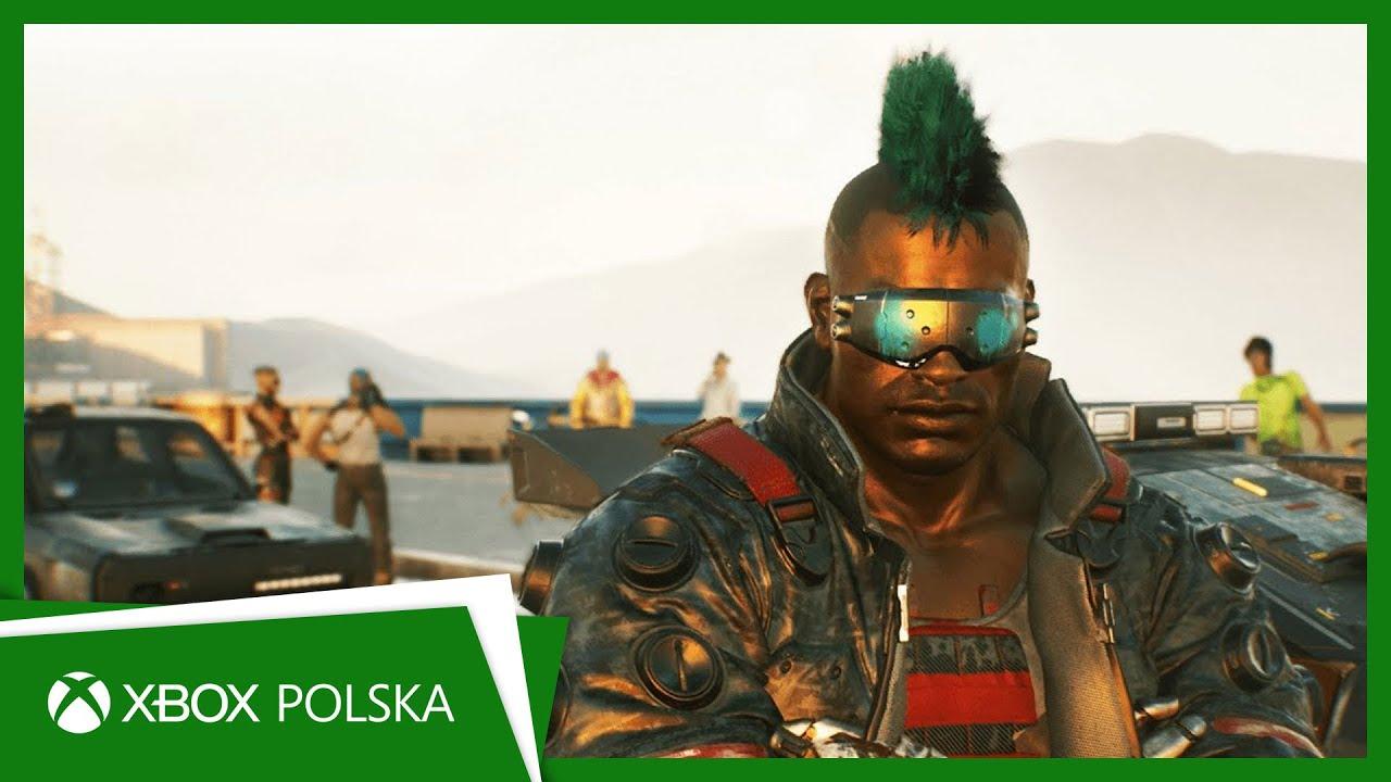 Cyberpunk 2077 - Przeszłość V   Xbox One
