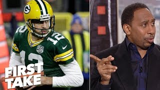 Stephen A.: Aaron Rodgers won't be able to pull off upset against Rams | First Take