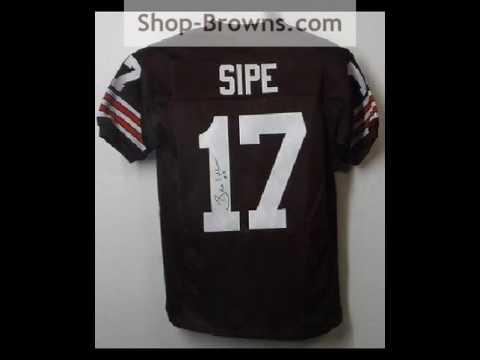 Brian Sipe Cleveland Browns Jersey