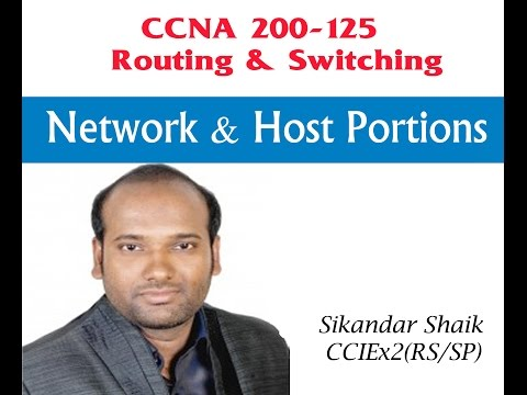 Network & Host Portions - Video By Sikandar Shaik || Dual CCIE (RS/SP) # 35012