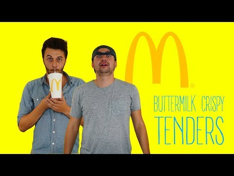 MCDONALD'S BUTTERMILK CRISPY TENDERS! Review
