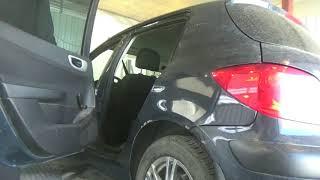 Как снять-установить и отрегулировать двери. Peugeot 307.