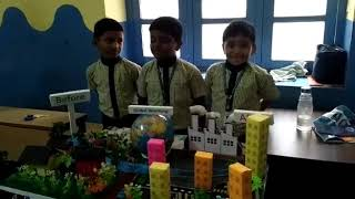 Global warming project for science exhibition
