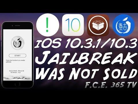 iOS 10.3.1 Pangu Jailbreak Sold To Apple (CONFIRMED FALSE)