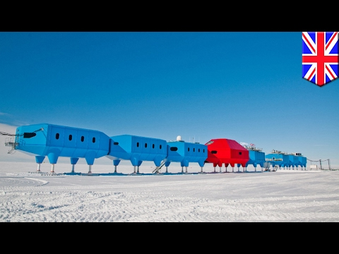 Halley Research Station completes relocation process, reopens in November - TomoNews