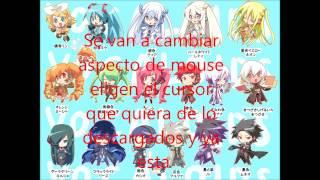Cursores anime y vocaloid + descarga