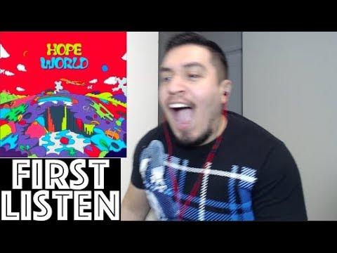J-HOPE HOPE WORLD MIXTAPE FIRST LISTEN Reaction