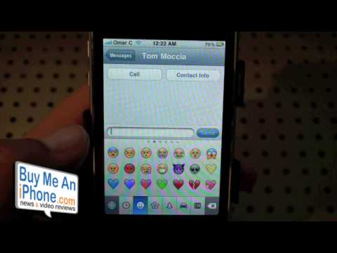 Tip: Adding Emoji/Smilies/Emoticons To Your IPhone