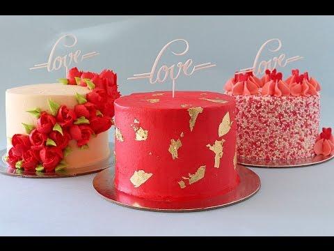 Mini Valentine's Day Themed Cakes- Rosie's Dessert Spot
