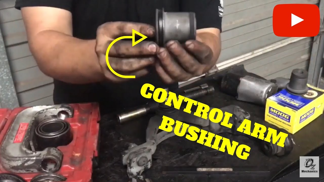How to replace control arm bushings