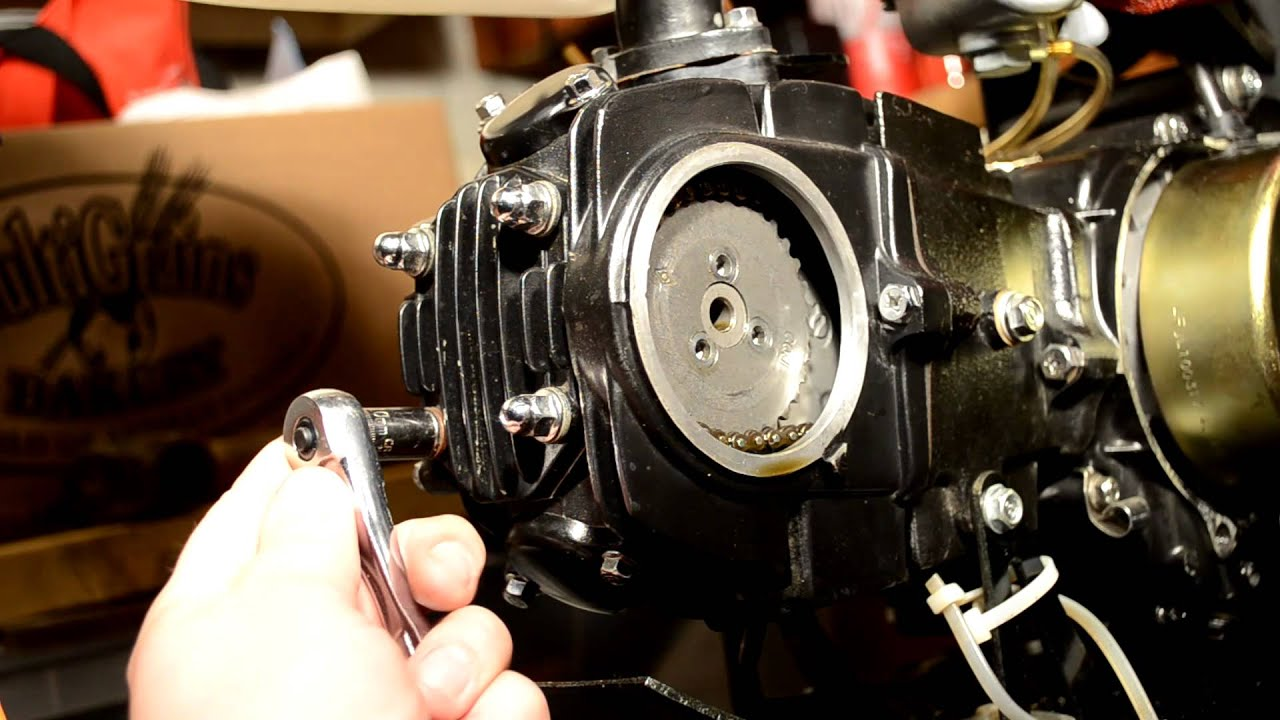 valve replacement on lifan pit bike motor part 1 dissassembly [ 1280 x 720 Pixel ]