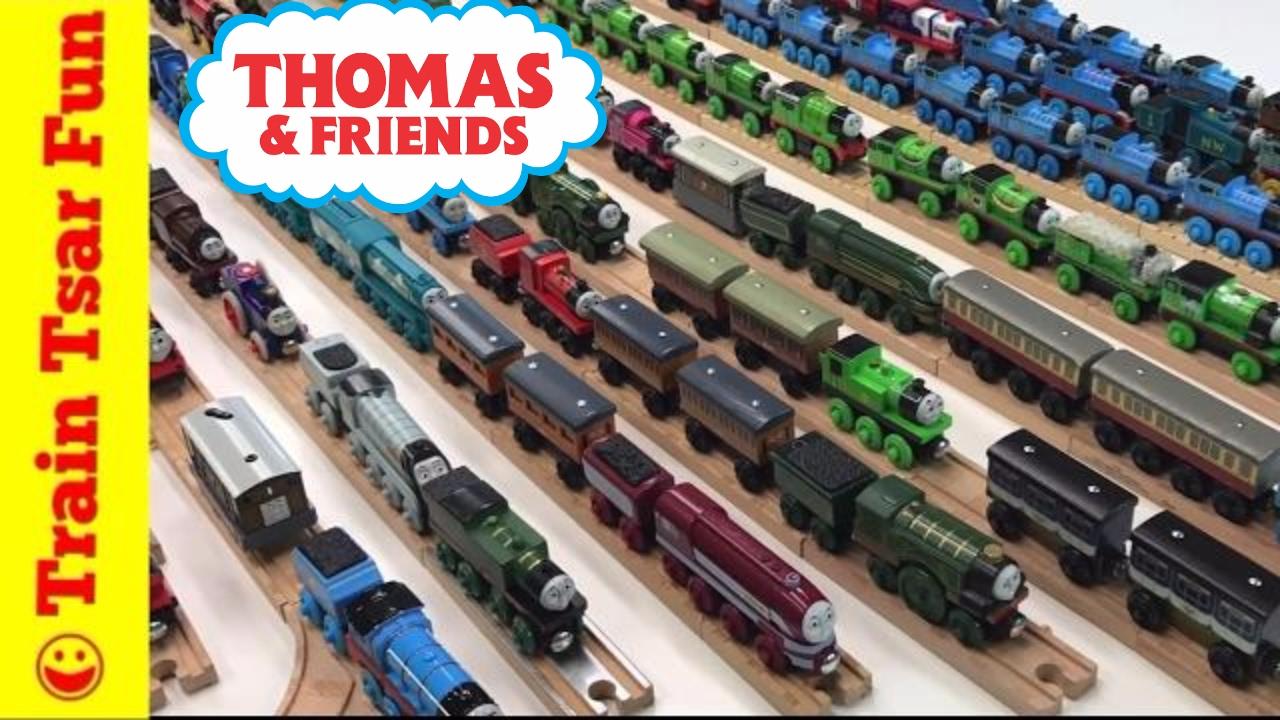 Thomas Wooden Railway Train Collection Ttfc March 2017