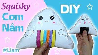 DIY Onigiri Squishy | Liam Channel
