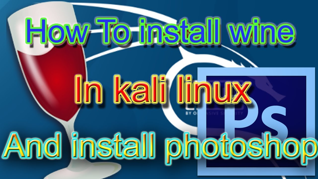 how to install wine in kali linux and install Photoshop |how to Uninstall  wine software (Hindi/Urdu)