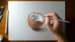 Amazing Drawing 3D - Coconut