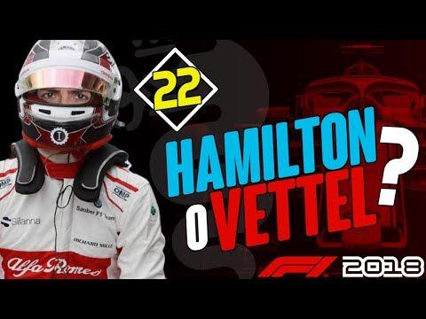 HAMILTON o VETTEL? • GP.ABU DHABI • F1 2018 CARRIERA ITA • EP.22