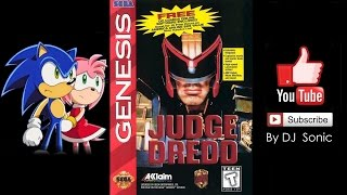 Judge Dredd The Movie RUS Sega Genesis Longplay