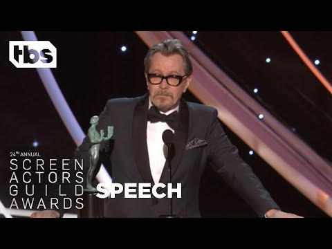 Gary Oldman: Acceptance Speech  24th Annual SAG Awards  TBS
