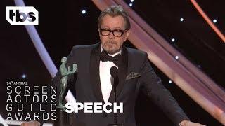 Gary Oldman: Acceptance Speech | 24th Annual SAG Awards | TBS