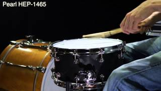 Test: Pearl Hybrid Exotic Snares Jam in mittelhoher Stimmung, Review