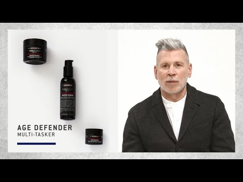 Morning routine tips for men | kiehl's x nick wooster