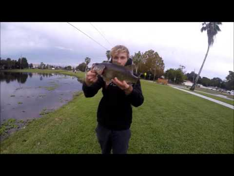 Winter time bass fishing gopro youtube for Best time for bass fishing