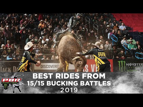 The Best Rides From ALL 2019 15/15 Bucking Battles