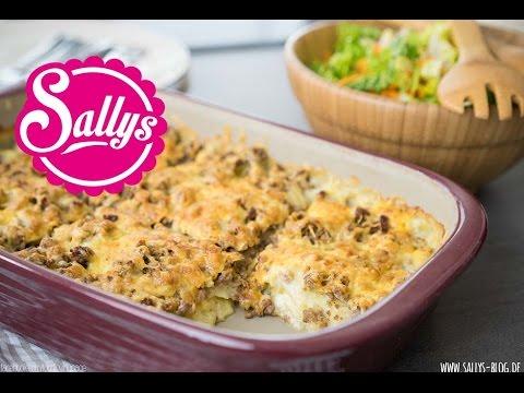 würziges Hackfleisch-Kartoffelgratin / schnelles Hauptgericht / Sallys Welt