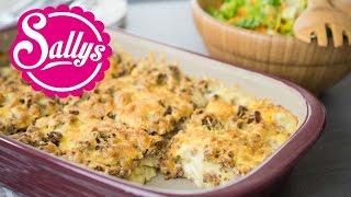 würziges Hackfleisch-Kartoffelgratin / schnelles Hauptgericht